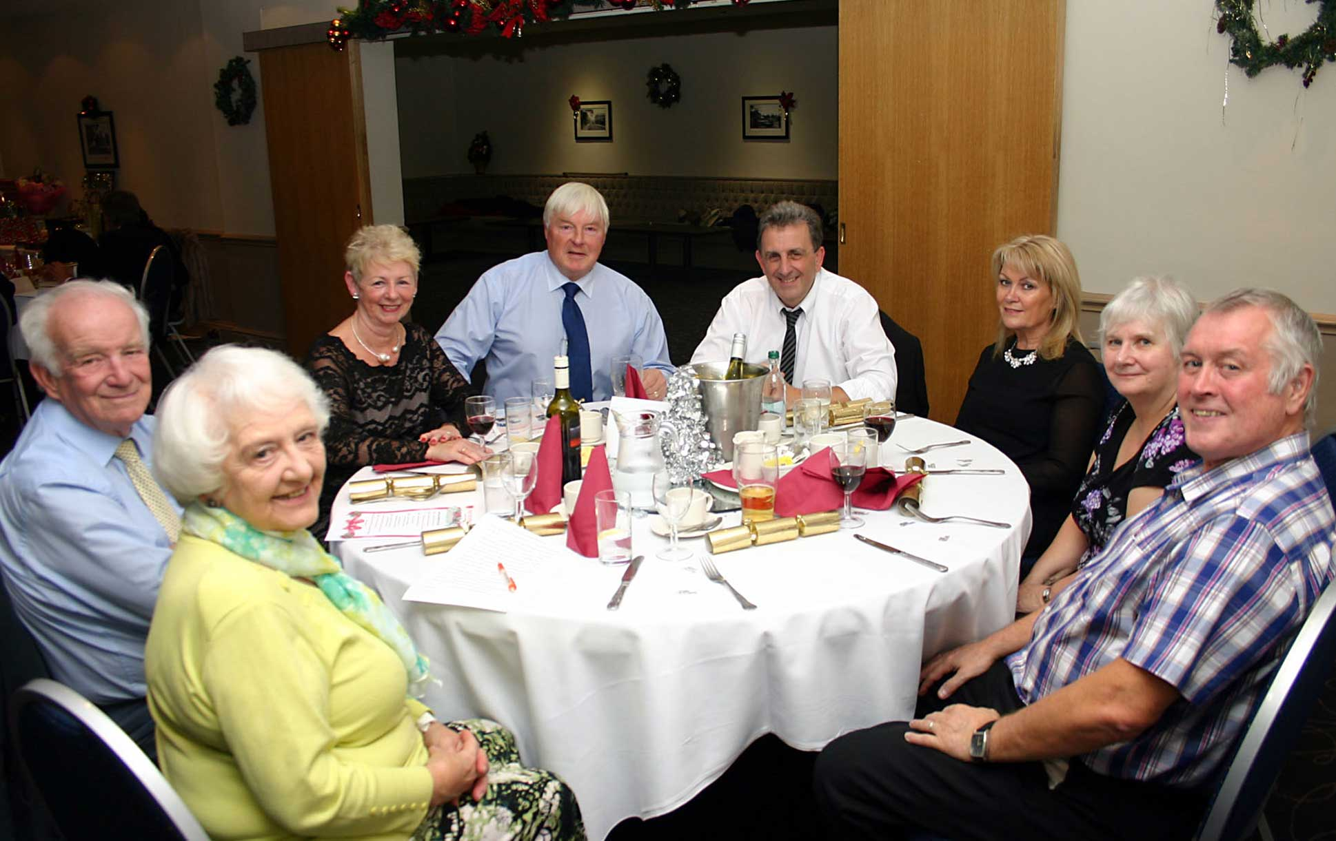 Christmas Hotpot Supper at the Cresta Court Hotel,