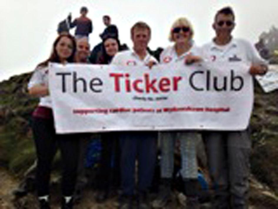 Kim & friends climb Snowdon